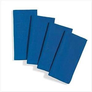 Blue Table Napkins Set - Style 36498