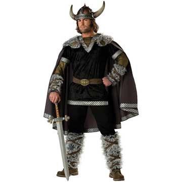 Viking Warrior Costume Deluxe Adult