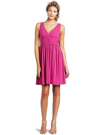 Trina Turk Women's Reina Ruched Bodice Dress, Violeta, 2