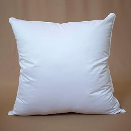 "Best Buy! De Lux - 18"" x 18"" Square Premium Cluster Fiber Pillow Form Insert Cotton Covere..."
