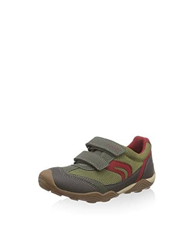 Geox Sneaker Jr Arno B [Verde/Grigio]