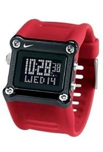 Nike Mettle Hammer Watch - Sport Red/Black - WC0021-620
