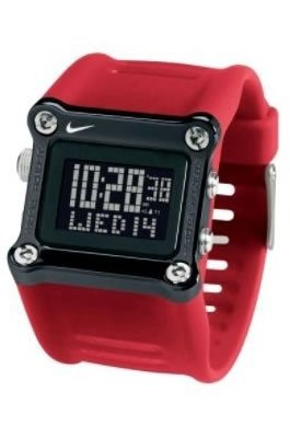 Nike Mettle Hammer Watch - Sport Red/Black - WC0021-620