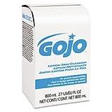 GOJO Lotion Skin Cleanser Refill, Pleasant, Liquid, 800ml Bag
