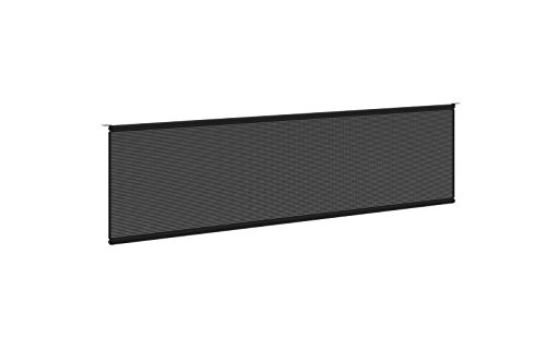 basyx by HON Modesty Panel for Worksurface, 60-Inch, Black Mesh (Desk Privacy Panel compare prices)