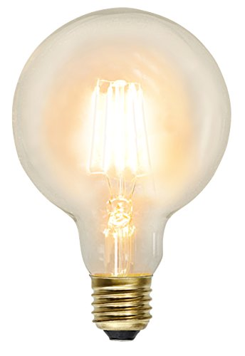 "Decoration LED ""Soft Glow"", E27, A+  Edison Optic, ca. 2100 K, 230 Lm, ca. 9,5 x 13,5 cm, 230 V / 2,3 W  1 Stück"