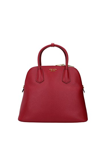Borse a Mano Prada Donna Pelle Rosso BL0902FUOCO 14x27x35 cmEU