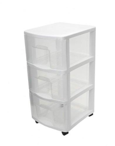 Plastic 3 Drawer Chest ~ Top dorm room essentials
