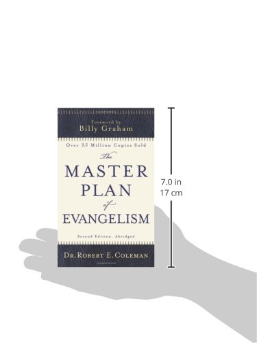 robert e coleman the master plan of Coleman is the writer of the book the master plan of evangelism1 dr coleman is the distinguished senior professor of discipleship and evangelism at gordon-conwell theological seminary he holds six advanced degrees, including two doctor of divinity degrees.