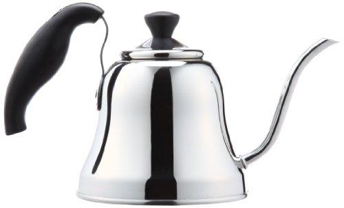 パール金属 コーヒー ドリップ ポット 1.1L IH対応 ステンレス 暮らしにFit H-9475