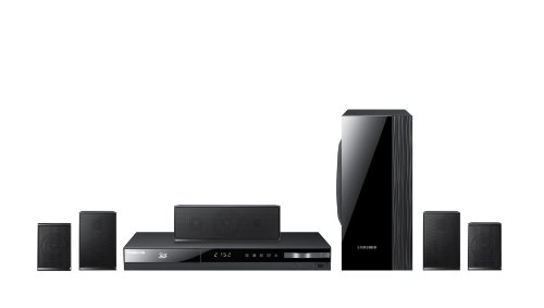 Samsung HT-E4500 HTIB 5.1 Channel 3D Blu-ray 1000-Watt Home Theater System