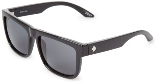 Spy Optic Discord Flat Sunglasses, Black, 57 mm