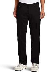 Puma Golf NA Men's 5 Pocket Tech Pant,  Black, 34W x 32L