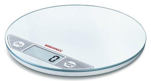Soehnle Slim Design Flip 66160 Bilancia da cucina digitale, colore: Bianco