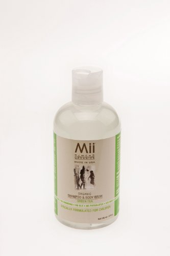 Mii Kid Care 2 Count Shampoo/Body Wash, Green Tea, 8-Ounce (Discontinued by Manufacturer) - 1