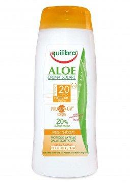 Equilibra Aloe crema solare spf 20 protezione media 200 ml