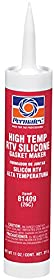 Permatex 81409-12PK High-Temp Red RTV Silicone Gasket, 11 oz. (Pack of 12)