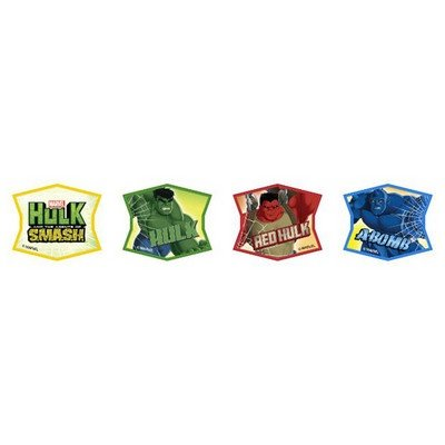 Hulk and the Agents of S.M.A.S.H. A Bomb and Red Hulk Cupcake Rings - 24 pcs by Bakery Supplies