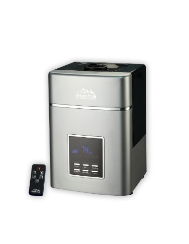 Heaven Fresh HF 707 Digital Ultrasonic Cool and Warm Mist Humidifier and Ionizer – with Remote Control