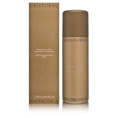 Cristobal by Balenciaga for Women 5.0 oz Deodorant Spray