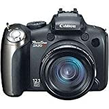Canon PowerShot SX20IS 12.1MP Digital Camera with 20x Wide Angle Optical Im ....