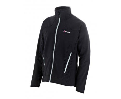 BERGHAUS Men's Ardennes Softshell Jacket, Black, M