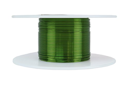 TEMCo 30 AWG Copper Magnet Wire - 2 oz 392 ft 155°C Magnetic Coil Green (Coil Build compare prices)