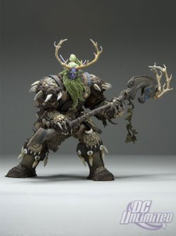 World of Warcraft Series 2 Night Elf Druid: Broll Bearmantle Action Figure