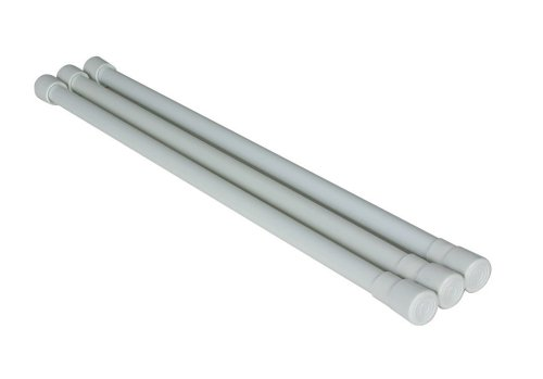 Camco 44053 White Refrigerator Bar - 3 pack