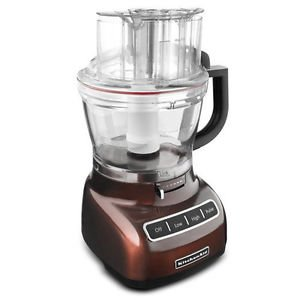 Kitchenaid Adjust 13-cup Food Processor Die Cast Metal Espresso Brown Kfp1344es One Day Shipping Good Gift Fast Shipping