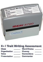 6+1 Trait® Writing Assessment Self-Inking Stamp