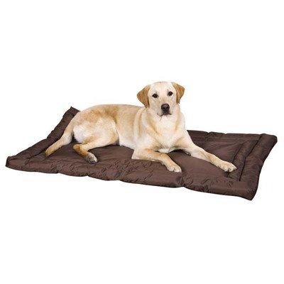 Slumber Pet Nylon Water Resistant Dog Bed, Large, Chocolate front-272321