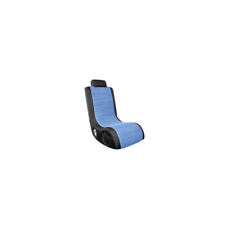 Astonishing Lumisource Boomchair Black Blue Gaming Chair A44 On Popscreen Alphanode Cool Chair Designs And Ideas Alphanodeonline