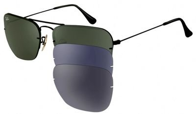 Ray-Ban RB 3461 CARAVAN FLIP OUT,