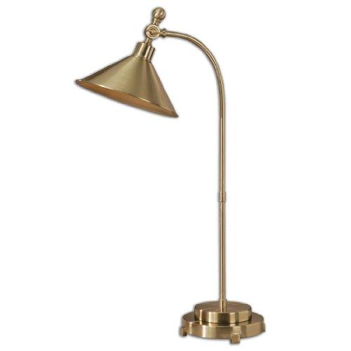 Uttermost 29947-1 Viarigi Coffee Bronze Desk Lamp
