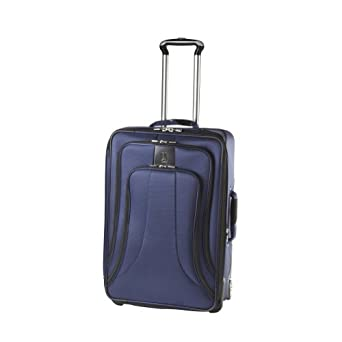 Travelpro Luggage WalkAbout LITE 4 24-Inch Expandable Rollaboard Suiter, Blue, One Size