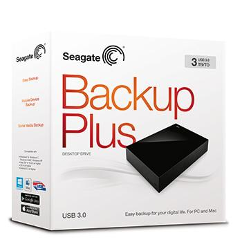 Foto Seagate Backup Plus Desktop