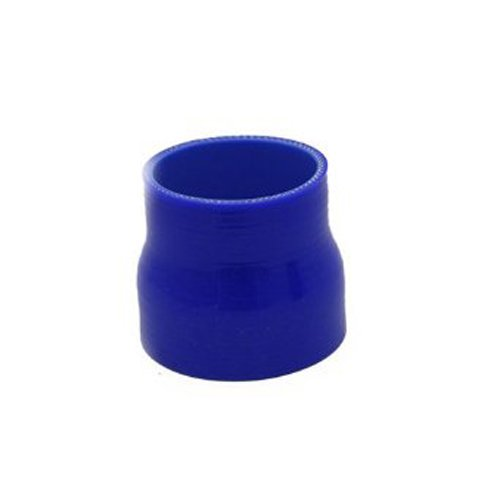 """Universal 64Mm-76Mm 2.5""""-3"""" Reducer Straight Silicone Coupler Hose Coupling Pipe New front-280528"""