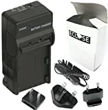 Eclipse SAMSUNG SLB-10A / SLB10A Battery Charger replace for Samsung Digimax ES55, HZ10W, HZ10 W, HZ15W, HZ15 W, IT100, L100, L110, L200, L210, L310, L310 W, L310W, L313, M100, M110, NV9, P800, P1000, PL60, PL65, SL102, SL202, SL310 W, SL310W, SL420, SL6
