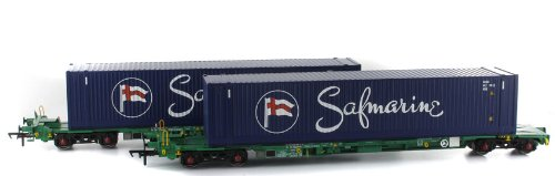 Intermodal Bogie Wagons With Two 45ft Containers 'Safmarine'