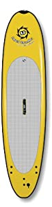 Liquid Shredder Paddleboard Softboard, Yellow, 12-Feet from Liquid Shredder