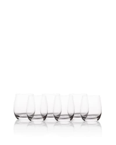 BergHOFF Set of 6 Chateau Whisky Glasses, 12-Oz. As You See