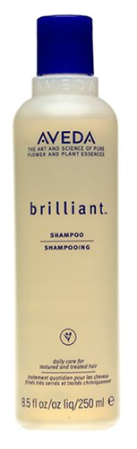 Aveda Brilliant Shampoo, 8.5-Ounce Bottles (Pack of 2)