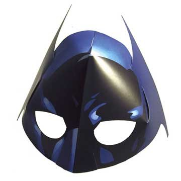 Batman The Dark Knight Masks, 4ct
