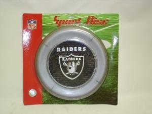 NEW Oakland Raiders Sport Disc NFL Frisbee Dog Toy