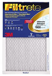 Cheap 14x20x1 (13.7 x 19.7) Filtrete 1900 Ultimate Allergen Reduction Filter by 3M (4 Pack) (B00564VZQS)