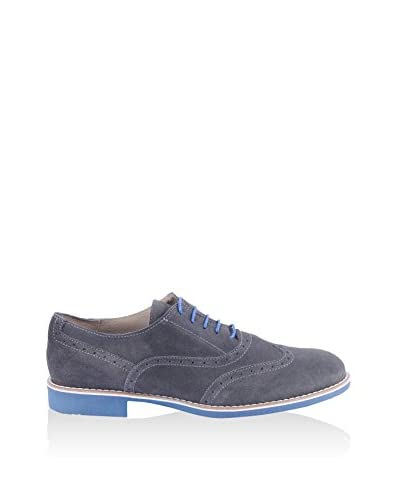 SOTOALTO Zapatos Oxford British Azul