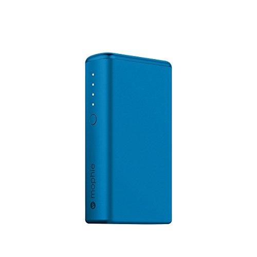 日本正規品・1年保証mophie power boost (急速充電対応 5,200mAh モバイルバッテリー) ブルー MOP-BY-000145