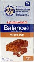 Balance Bar Nutrition Energy Bar Mocha Chip -- 15 Bars