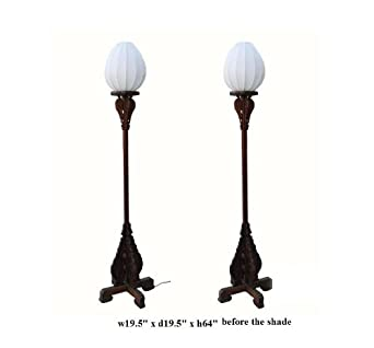 carved tall floor lamps as1152 candle stands floor wood. Black Bedroom Furniture Sets. Home Design Ideas